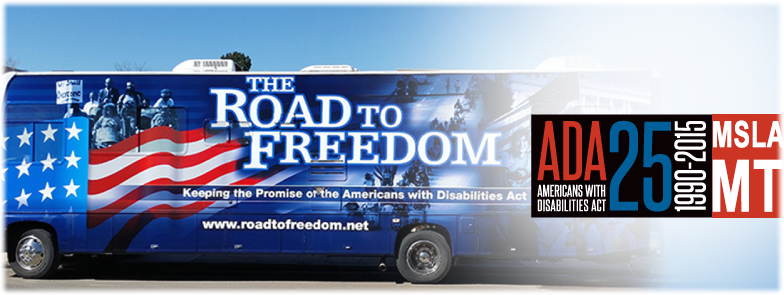 ADA 25 - 1990-2015: OUR LIVES, OUR FREEDOM -- CELEBRATE THE 25TH ANNIVERSARY OF THE ADA